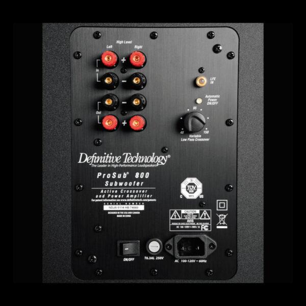 prosub-800 Definitive Technology